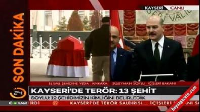 İçişleri Bakanı Soylu: Teröristin kimliği belirlendi
