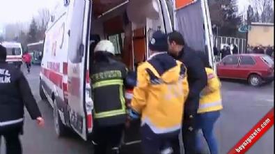 Kayseri Erciyes Üniversitesi Önünde Patlama: Yaralılar Var (İlk görüntüler)