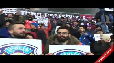 Osmanlıspor - Galatasaray maçında şehitler unutulmadı