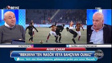 Ahmet Çakar'dan Riekerink'e ağır eleştiri