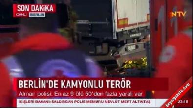 Berlin'de terör saldırısı