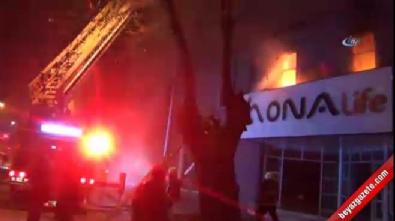 Mobilya sanayisinde büyük yangın