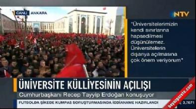 Cumhurbaşkanı Erdoğan'dan 'Başkan Erdoğan' tezahüratlarına yanıt