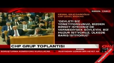 Kılıçdaroğlu: Terörle mücadele ciddi bir iştir