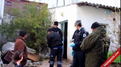 Bodrum'da yaşlı adam donarak öldü