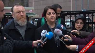 HDP'li Pervin Buldan adliyeden ayrıldı