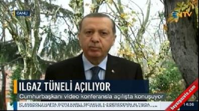 Cumhurbaşkanı Recep Tayyip Erdoğan İstanbul'da canlı yayınla açılışa bağlandı