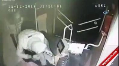 Hırsızlar otobüs çaldı