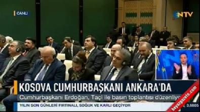 Cumhurbaşkanı Erdoğan'dan gazeteciyi susturan cevap