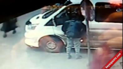 Tartıştığı minibüs şoförünü vurdu