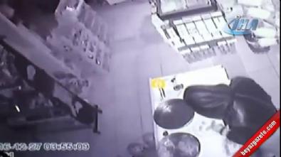 Hırsızların çiğ köfte partili soygunu kamerada