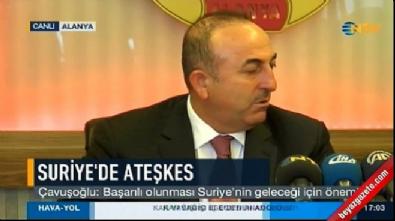 Çavuşoğlu: Koalisyon uzun zaman sonra El Bab'da DAEŞ'i vurdu