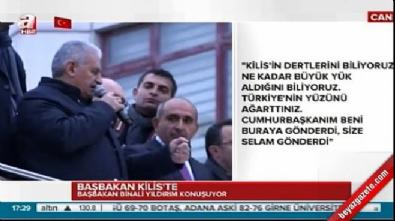 Başbakan Yıldırım'dan son dakika sürprizi