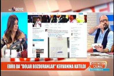 Ebru, 10 Bin Dolar bozdurup makbuzu yayınladı