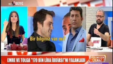Emre Kınay ve Tolga Sarıtaş '170 bin lira iddiası'nı yalanladı