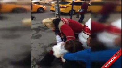 Ankara'da saç saça kadın kavgası!