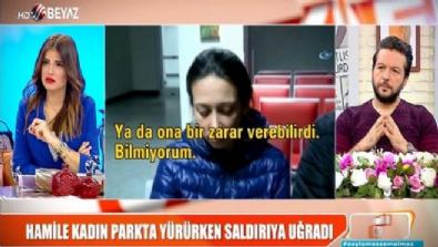 Hamile kadına saldıran şüpheli gözaltında