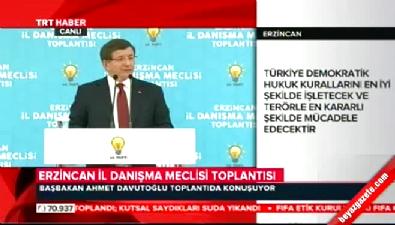 Başbakan Davutoğlu'ndan CHP'li Tanrıkulu'na tepki