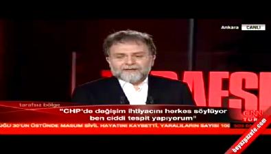 deniz baykal - Deniz Baykal'ın sözleri Ahmet Hakan'ı şaşırttı