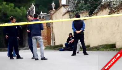 Polise Teslim Olmayan Şahıs Bir Kadını Böyle Rehin Aldı