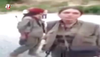 Kürt Nine'den Kadın Teröriste Tokat Gibi Yanıt!