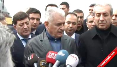 Ulaştırma Bakanı Binali Yıldırım Diyarbakır'da