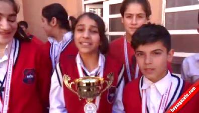 Silopi'de öğrenciler 3 farklı dalda il birinciliği elde etti