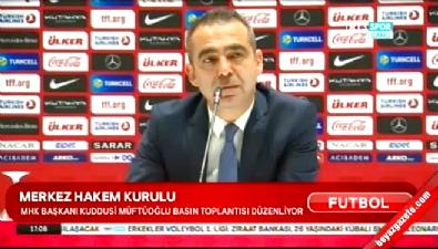 MHK Başkanı Müftüoğlu'ndan açıklama geldi