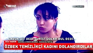 Özbek kadını günlerce eve kapatıp...
