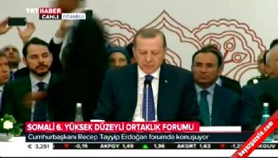 Cumhurbaşkanı Erdoğan'dan Somali'ye destek sözü