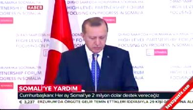 Cumhurbaşkanı Erdoğan: Türk tipi yardım modeli kabul görür hale geldi