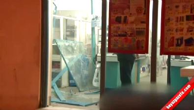 Mersin Tarsus'ta Marketlere Bombalı Saldırı!