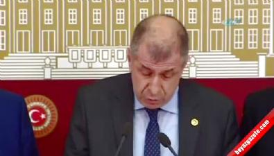 Ümit Özdağ parti yönetiminden istifa etti
