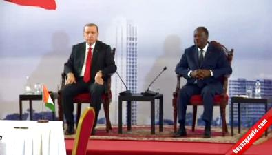 Türkiye ile Fildişi sahili arasında 9 anlaşma imzalandı