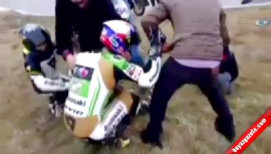 Kenan Sofuoğlu, antrenmanda kaza yaptı