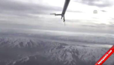 ANKA'nın ilk görev uçuşundan görüntüler