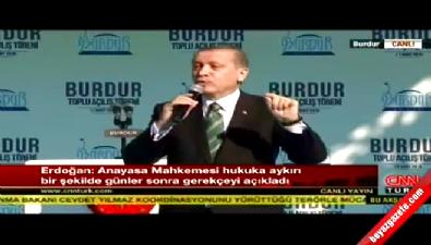 Cumhurbaşkanı Erdoğan: AYM Başkanı'na kırgınım