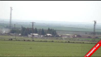 IŞİD Mevzilerini Savaş Uçakları Havadan, Obüs Topları Karadan Vuruyor