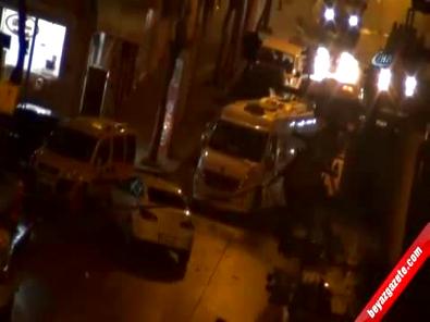 Teröristlerin polisle çatışma anı saniye saniye kamerada!