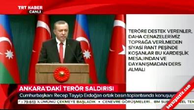 Erdoğan: Türkiye'ye asla diz çöktüremeyecekler, tam aksine kendileri diz çökecekler