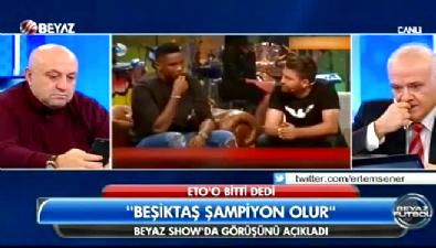 Samuel Eto'o : Beşiktaş şampiyon olur
