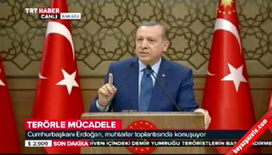 Cumhurbaşkanı Erdoğan: Bu şehitlerin bedelini ödeyeceksiniz