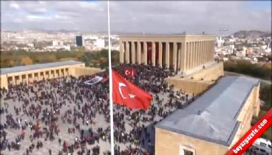 Genelkurmay Anıtkabir'in havadan görüntülerini paylaştı