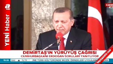 Cumhurbaşkanı Erdoğan savcıları göreve çağırdı