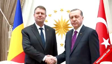 Erdoğan-İohannis görüşmesi