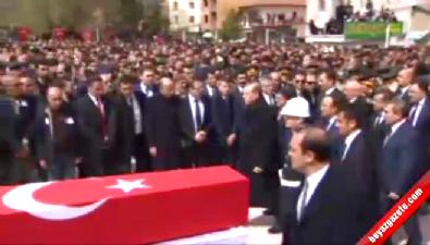 Cumhurbaşkanı, Şehit Osman Belkaya'yı Son Yolculuğuna Uğurladı