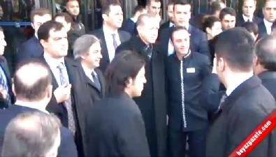 Cumhurbaşkanı Erdoğan, Taksim Meydanını Gezdi