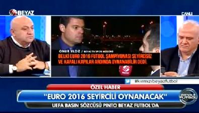 UEFA Sözcüsü Beyaz Futbol'a konuştu
