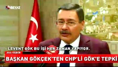 Melih Gökçek'ten CHP'li Gök'e tepki