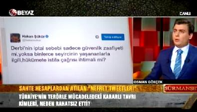 Osman Gökçek'ten Hakan Şükür'e sert tepki